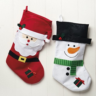 Christmas stockings from Pobra